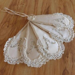 Accessories - Wedding Fan ( Handmade Vintage)